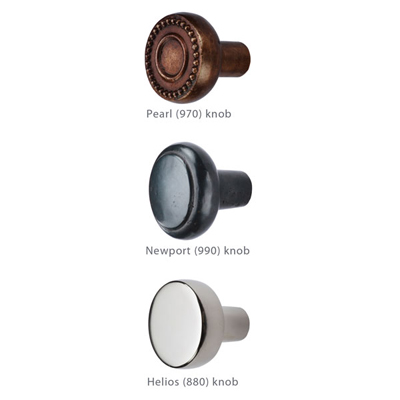 New Bronze Knobs