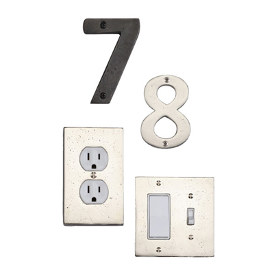 Urban Switch Plates and Numerals