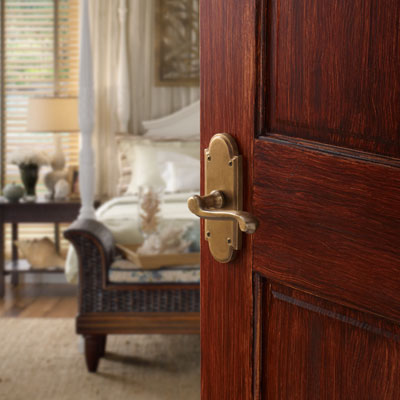 Arched Suite Interior Door Hardware