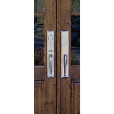 Rectangular Suite Entry Door Hardware